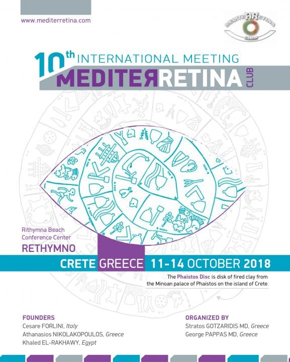 10th International Meeting Mediterretina | Era Ltd. Congress Organizer