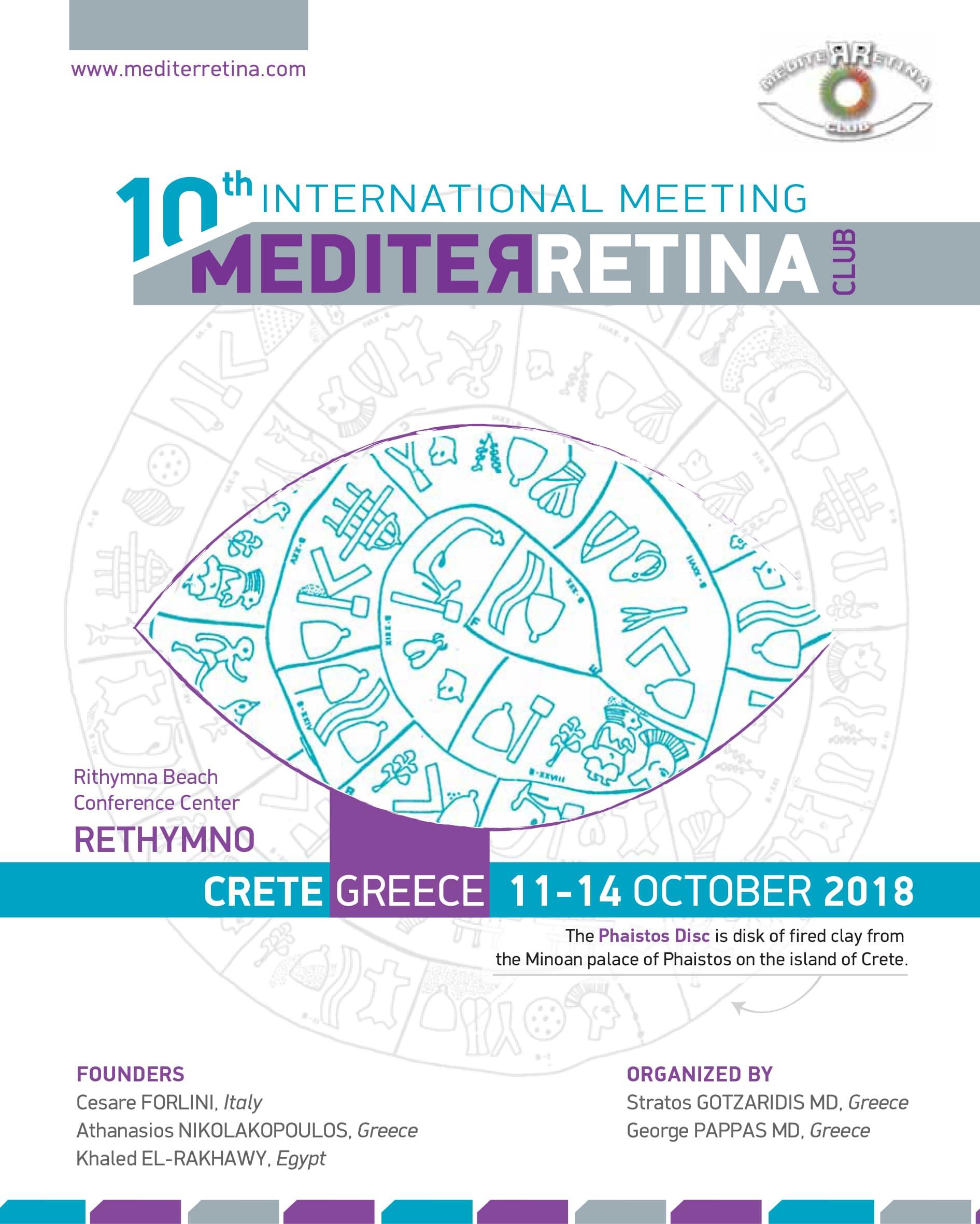 10th International Meeting Mediterretina | Era Ltd. Congress Organizer