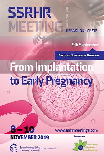 SSRHR Meeting- From Implantation to Early Pregnancy | Era Ltd Congress Organizer
