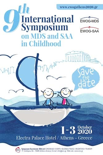 9th International Symposium on MDS and SAA in Childhood | ERA Ltd. Congress Organizers