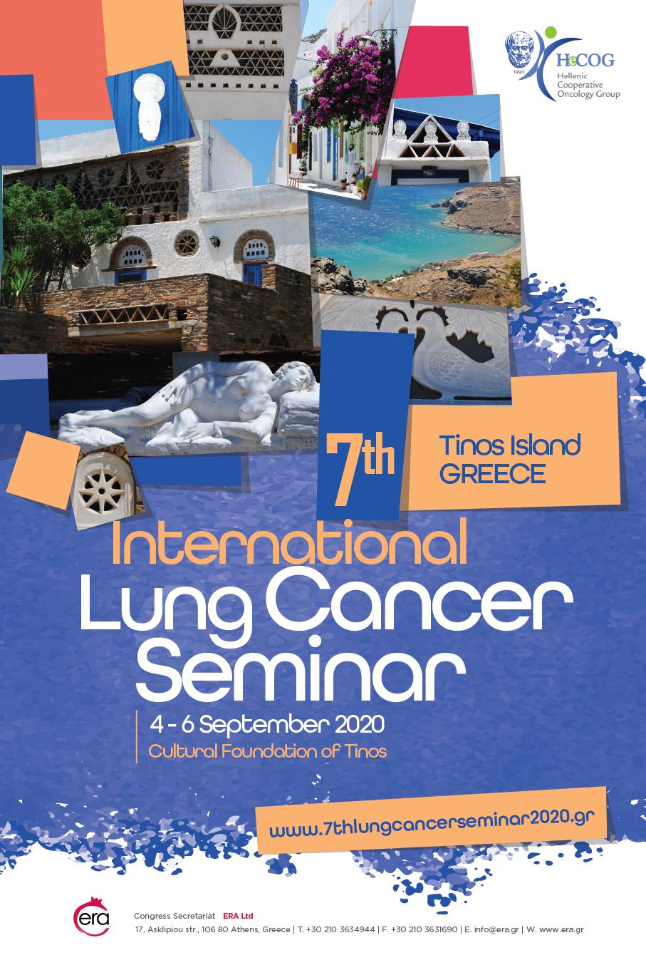 7th International Lung Cancer Seminar | ERA Ltd. Congress Organizers